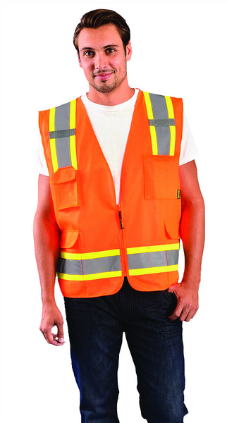 Value Two-Tone Surveyor Mesh Vest