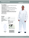 14711 PC120 Coveralls (includes 25 pair of coveralls)