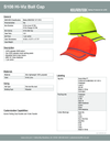 S108 Ball Cap ANSI Rated 1pc
