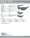 FREERIDE® Safety Glasses 1PC