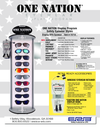 ONE Nation® Display Kit (includes Display and 60 pair of Retail Ready Safety Glasses)