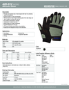428-612 (M300) Mechanics Glove with Knuckle Guard 1PAIR