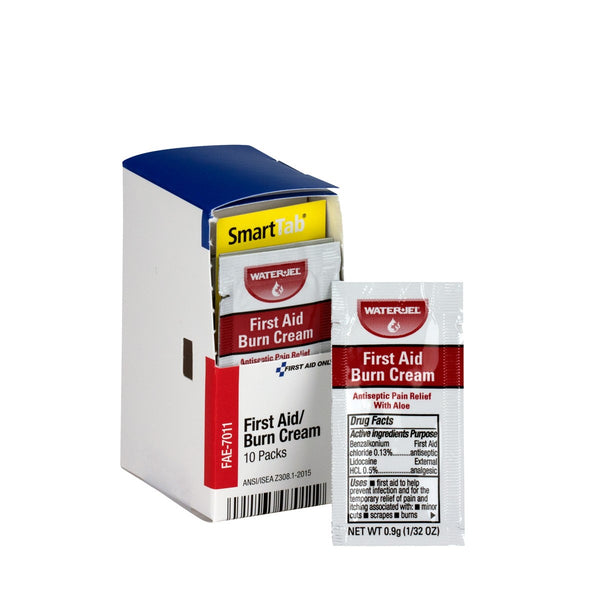 SmartCompliance Refill First Aid Burn Cream, 10 Per Box - BS-FAK-FAE-7011-1-FM