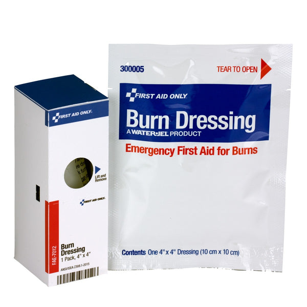 "SmartCompliance Refill 4""""X4"""" Burn Dressing, 1 Per Box - BS-FAK-FAE-7012-1-FM"