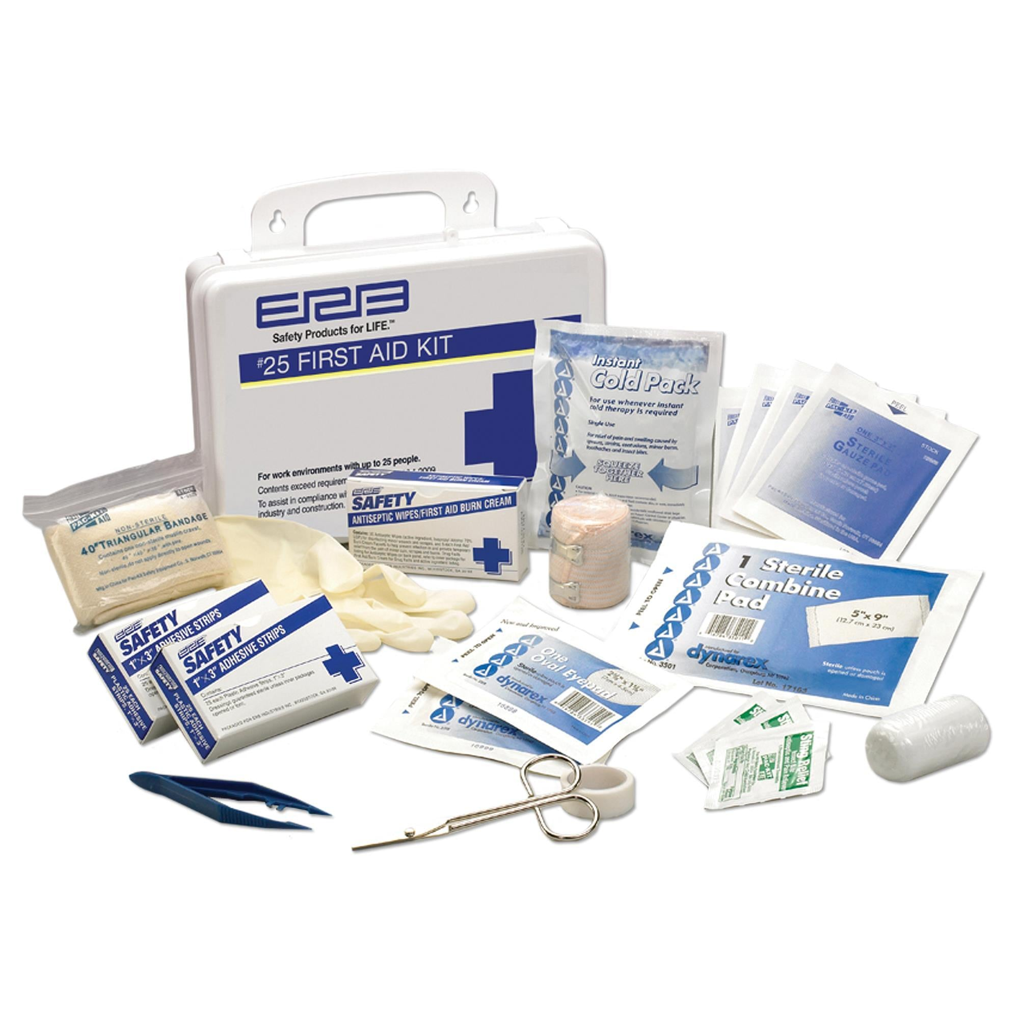 Premium First Aid Kit with Plastic Box 1EACH