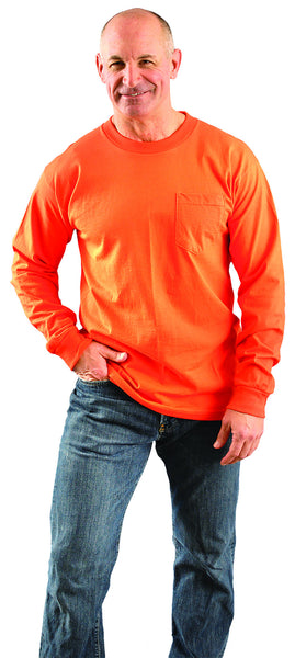 Classic Cotton Long Sleeve with Pocket