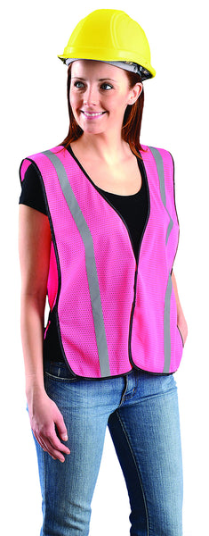 Value Mesh Silver Bead Vest - Ladies