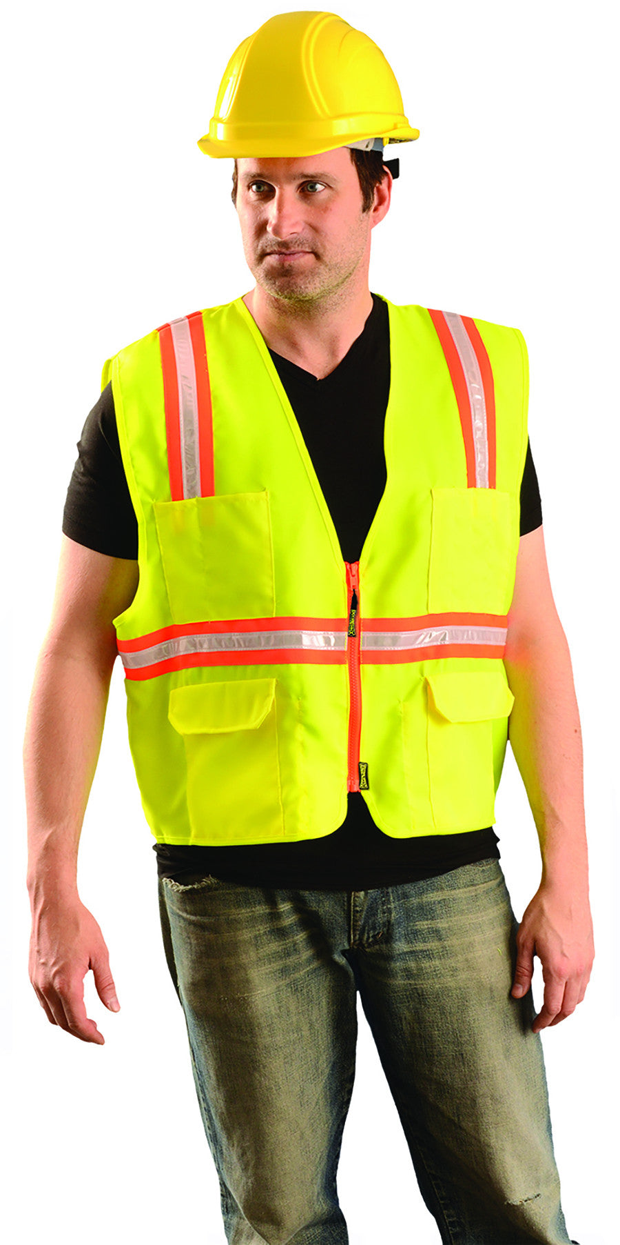 Classic Solid Two-Tone Surveyor Item # Lux-Xtrans Fit & Size