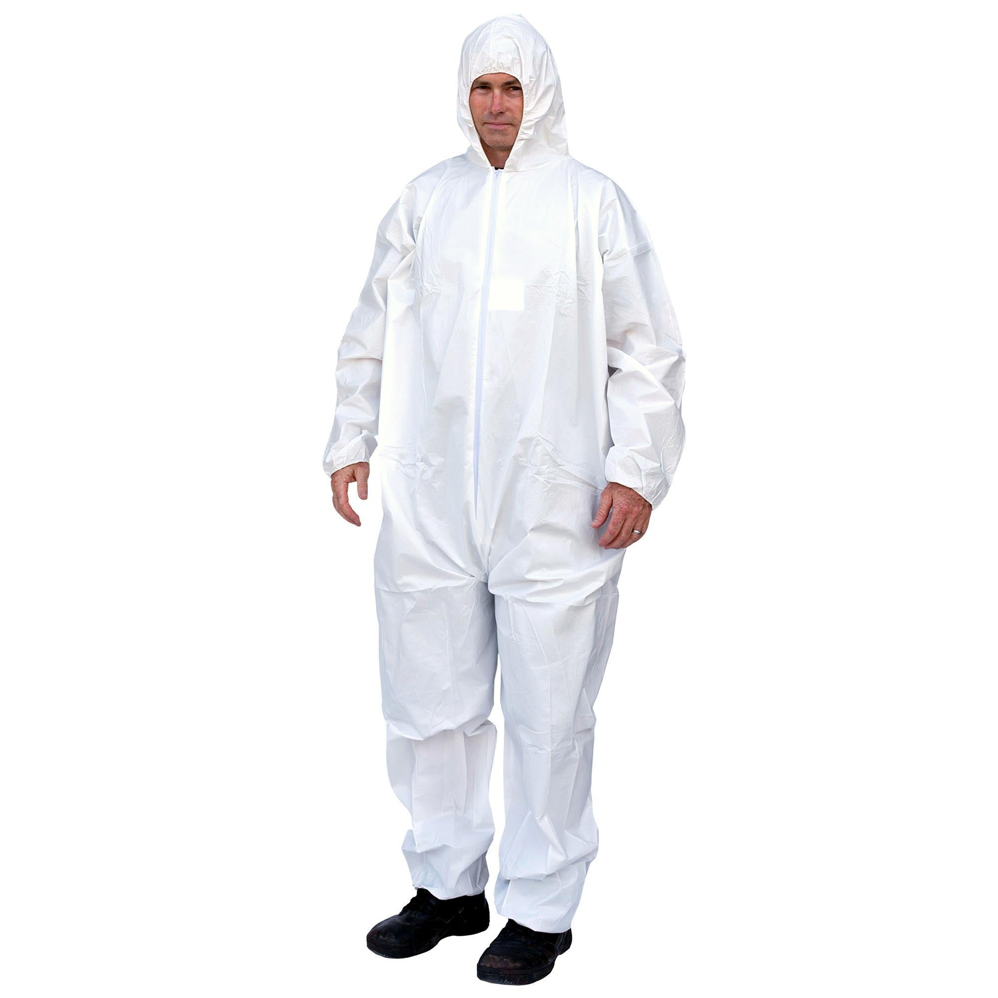 14806 PC127 Hooded Coveralls (includes 25 pair of coveralls)