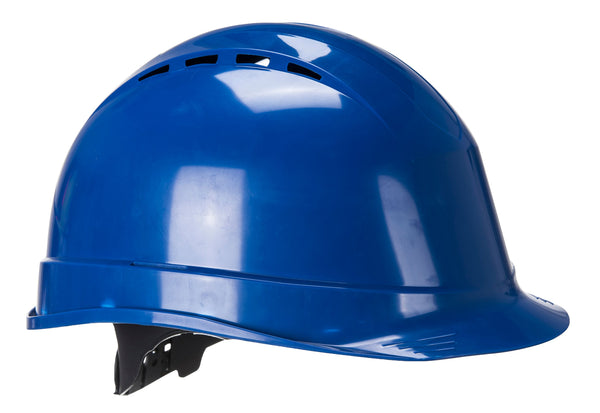 Brite Safety Arrow Safety Hard Hat - Lightweight Vented Hard Hats 6 Points PE Suspension Harness Protective Head Wear Construction Helmets