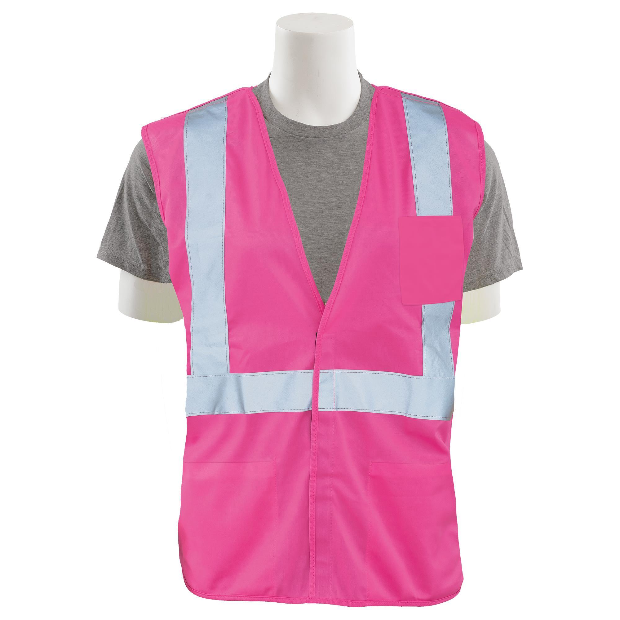 S362PNK Unisex Safety Vest Non-ANSI 1pc