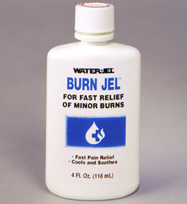 Burn Jel 4 oz. bottle - 24 bottles per case - BS-WJT-BJ4-24-1-FM