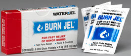 Burn Jel 3.5gm Unit Dose - 100 boxes of 6 each - BS-WJT-100U-6-1-FM