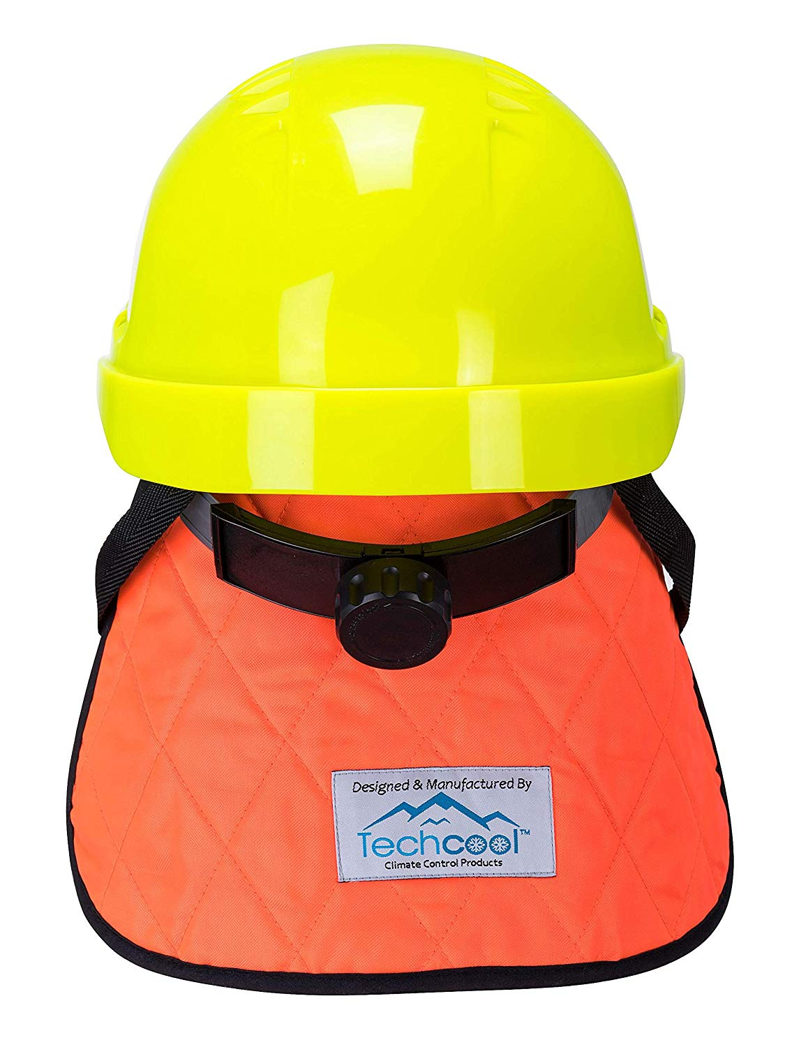 Brite Safety Evaporative Cooling Crown with Neck Shade - Adaptable on All Helmets Hard Hats