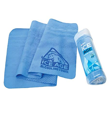 Brite Safety Evaporative PVA Cooling Towel - Reusable Universal Size Cooling Towels Best for Construction and Outdoor Activities (Pack of 2)