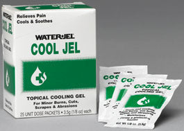 Cool Jel 3.5gm Unit Dose - 24 boxes of 25 each - BS-WJT-CJ25-600-1-FM