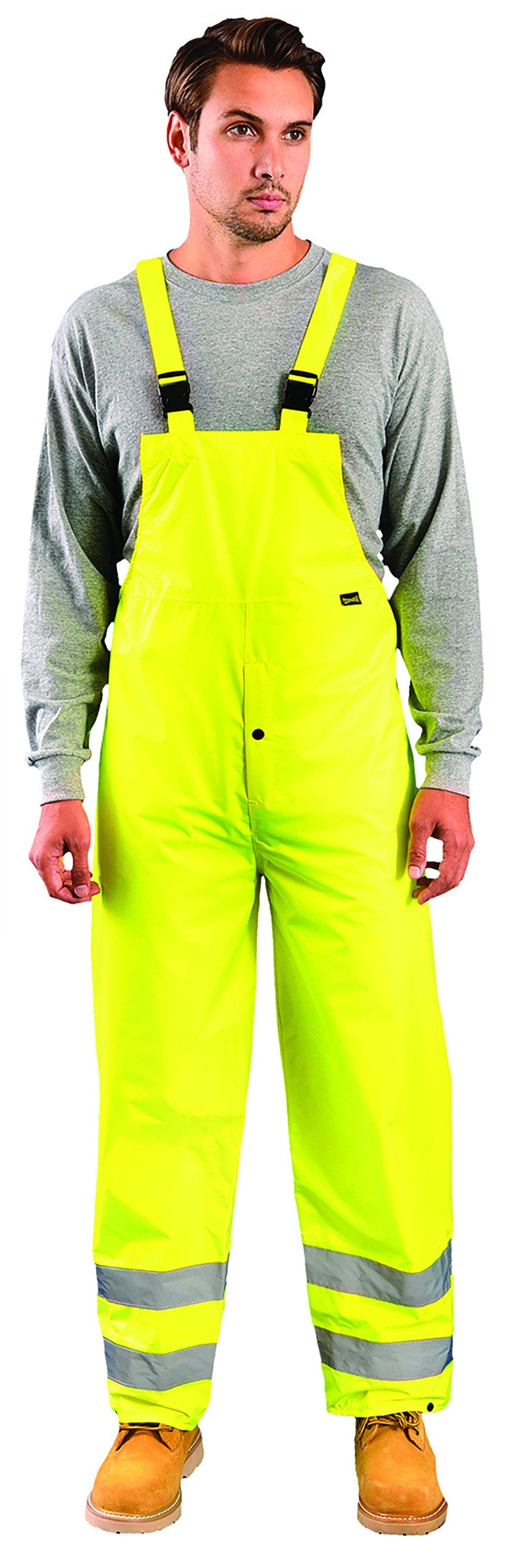 Premium Breathable Jacket - 4XL / Fluorescent Yellow