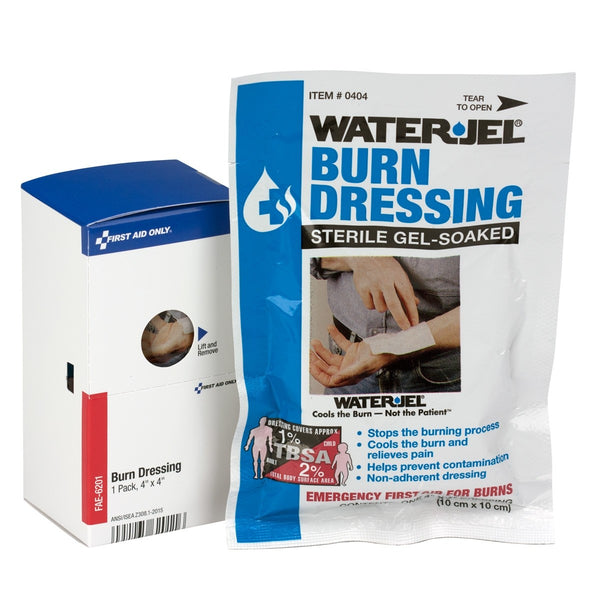 "SmartCompliance Refill 4""""X4"""" Burn Dressing, 1 Per Box - BS-FAK-FAE-6201-1-FM"
