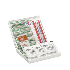 16 Piece Travel First Aid Kit, Plastic Case - BS-FAK-FAO-106-1-FM