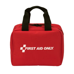 25 Person Bulk First Aid Kit, ANSI A, Type I & II, Soft Fabric Nylon Pouch Case - BS-FAK-90594-1-FM