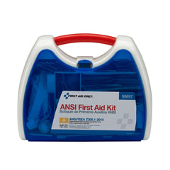25 Person Ready Care Small ANSI A Compliant First Aid Kit, Plastic Case - BS-FAK-90697-1-FM