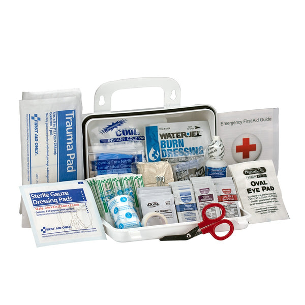 10 Person Bulk Plastic ANSI A, First Aid Kit - BS-FAK-90754-1-FM
