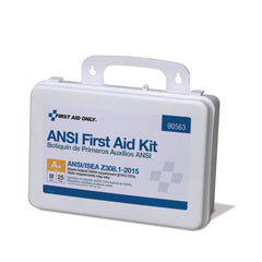 25 Person Plastic First Aid Kit, ANSI A+, Type III - BS-FAK-90563-1-FM