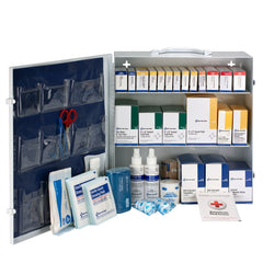 3 Shelf First Aid ANSI B+ Metal Cabinet - BS-FAK-90790-1-FM