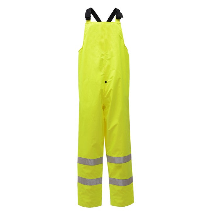 Class E Standard Hi Vis Waterproof Bib for Men