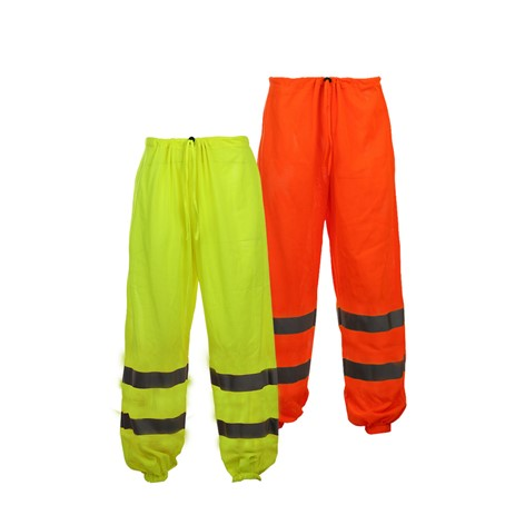 Class E Standard Hi Vis Safety Mesh Pants