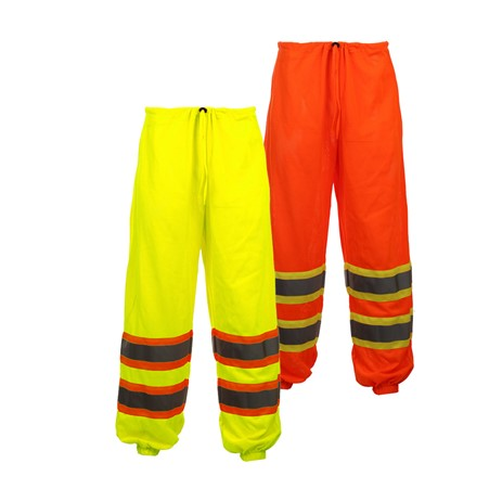 Class E Standard Hi Vis Two Tone Safety Mesh Pants