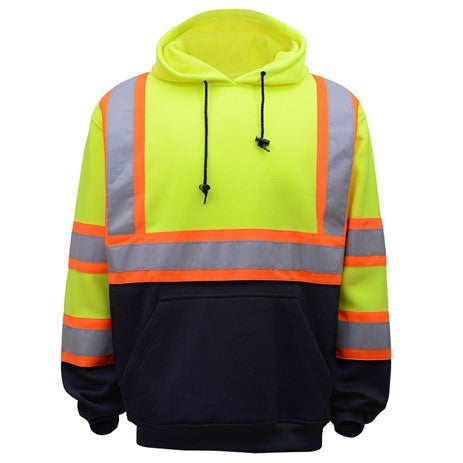 Class 3 Two Tone Pullover Safety Sweatshirt