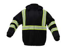 Class 3 New ONXY Heavy Weight Hi Viz Sweatshirts For Men or Women | Sweatshirt w/ DuPont Fabric Protect