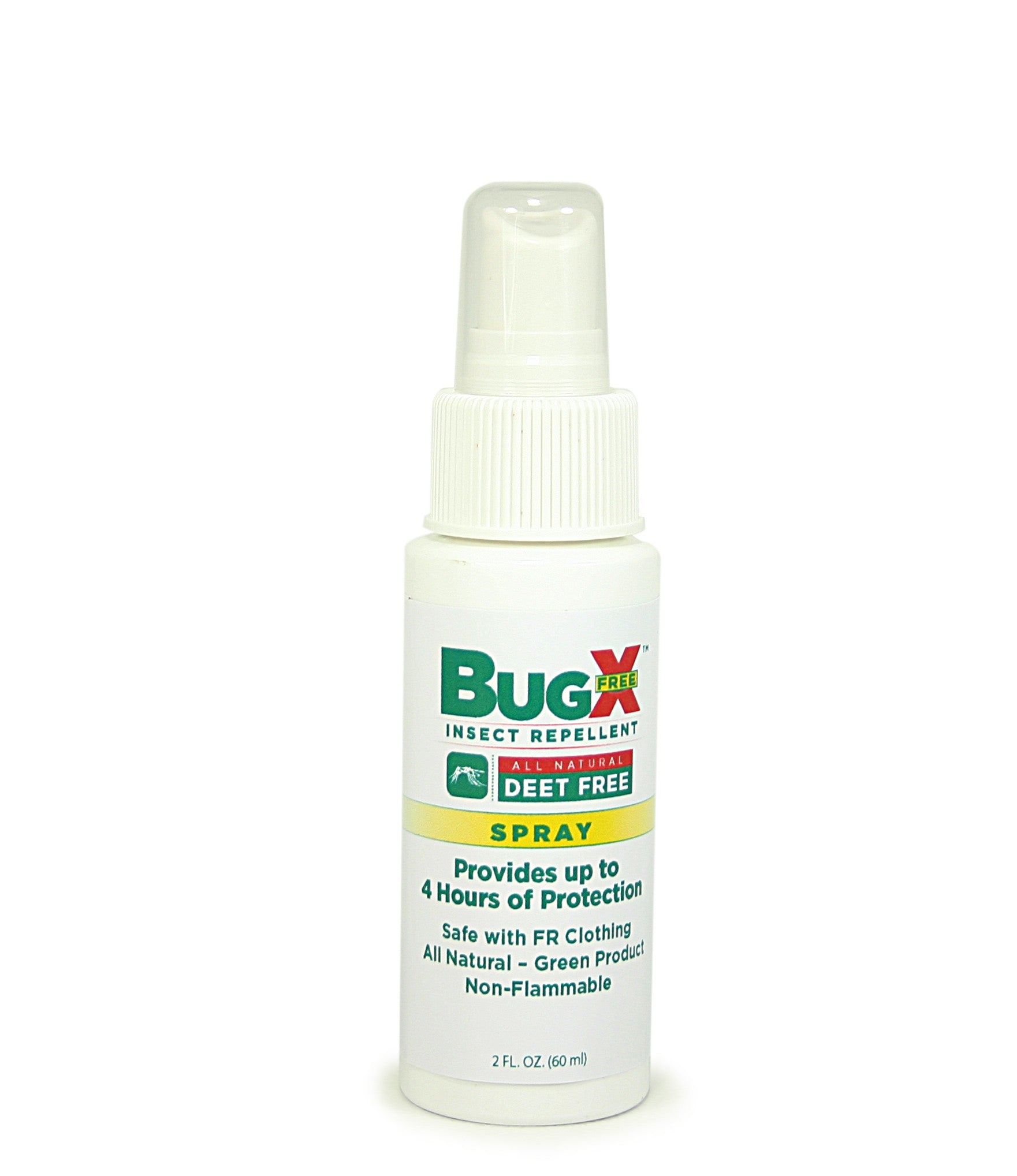 BugX DEET FREE Insect Repellent Spray, 2 Oz. Bottle, Case Of 12 - BS-FAK-18-802-1-FM