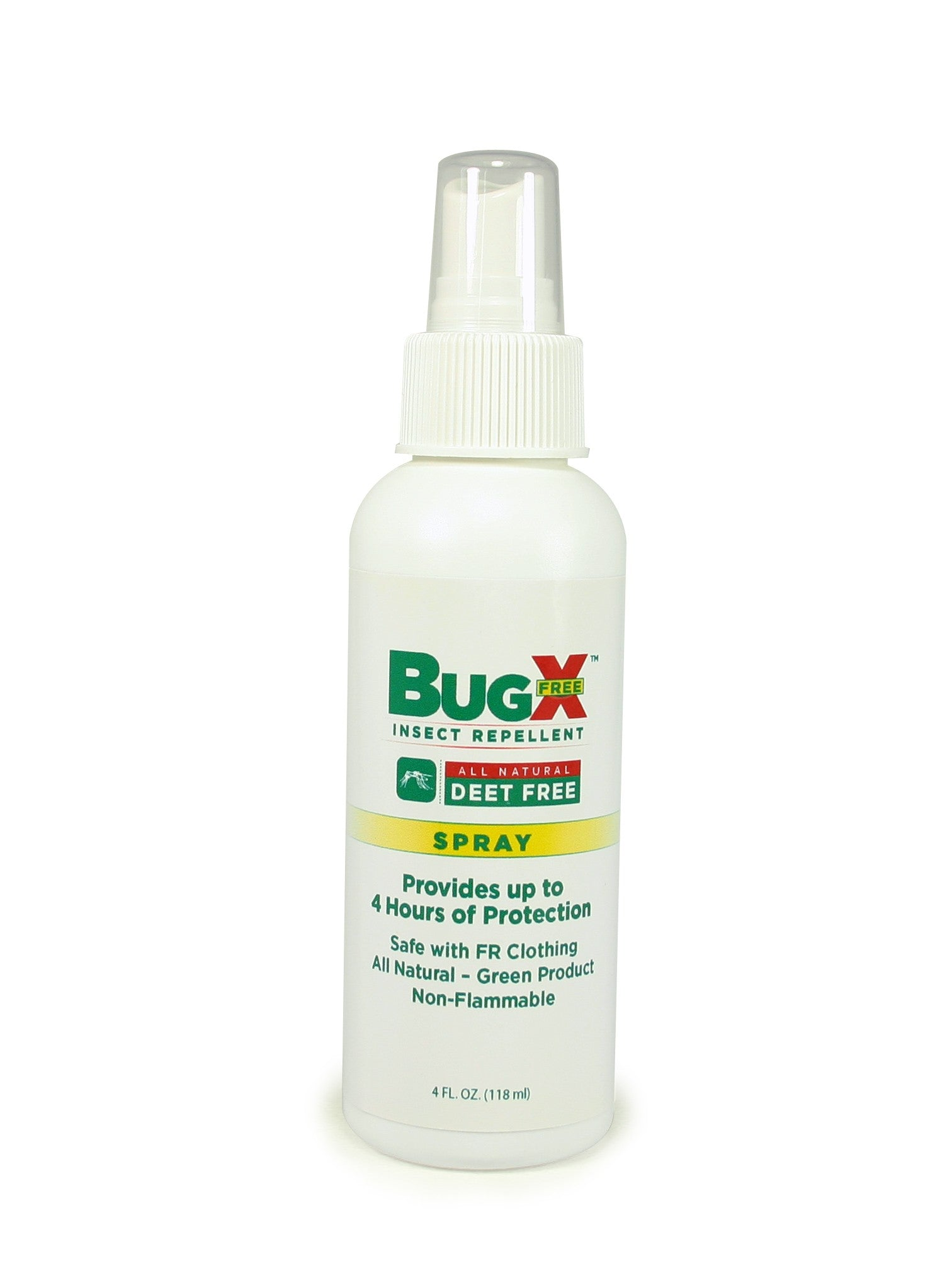 BugX DEET FREE Insect Repellent Spray, 4 Oz. Bottle, Case Of 12 - BS-FAK-18-804-1-FM