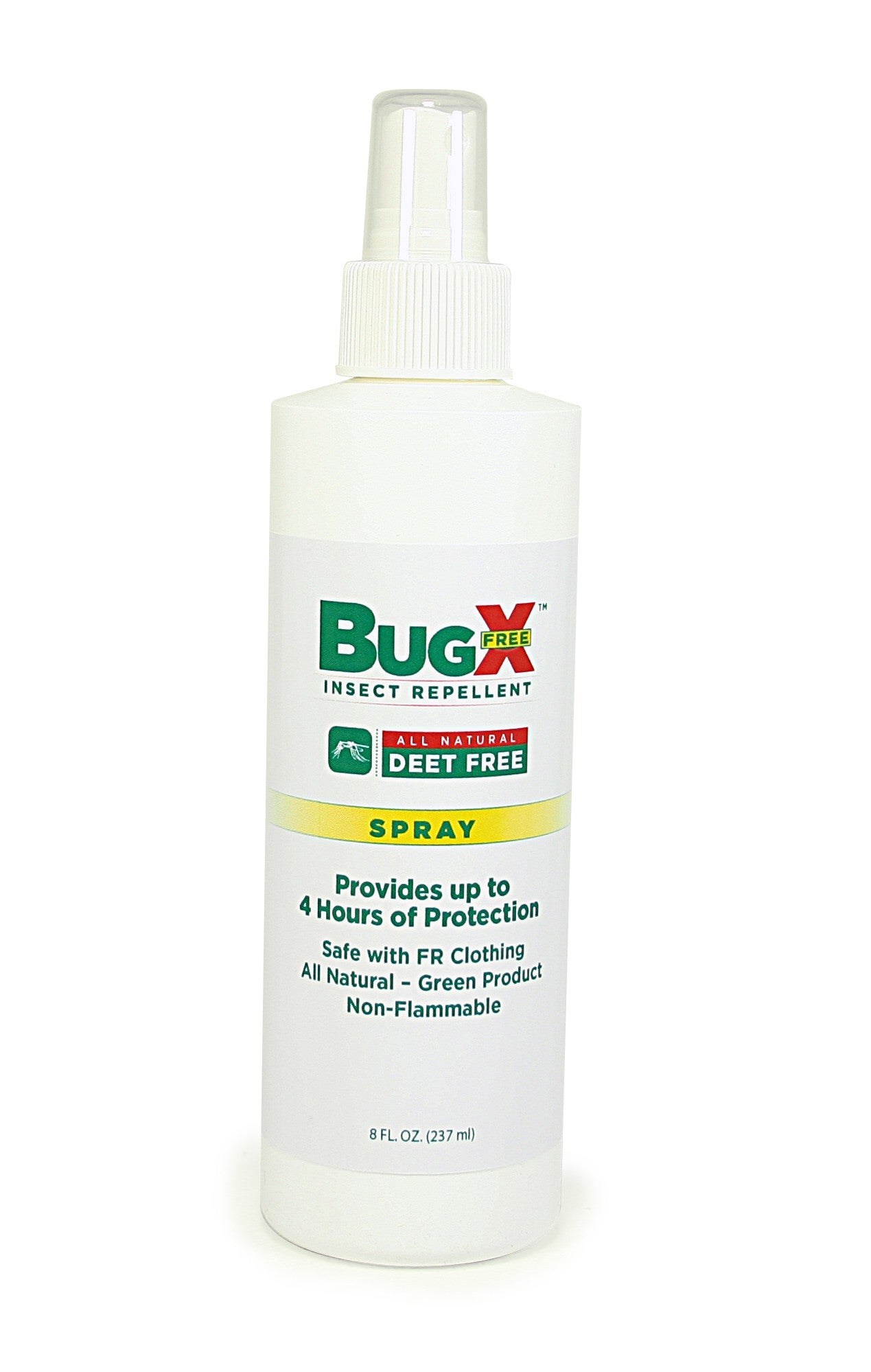 BugX DEET FREE Insect Repellent Spray, 8 Oz. Bottle, Case Of 12 - BS-FAK-18-808-1-FM