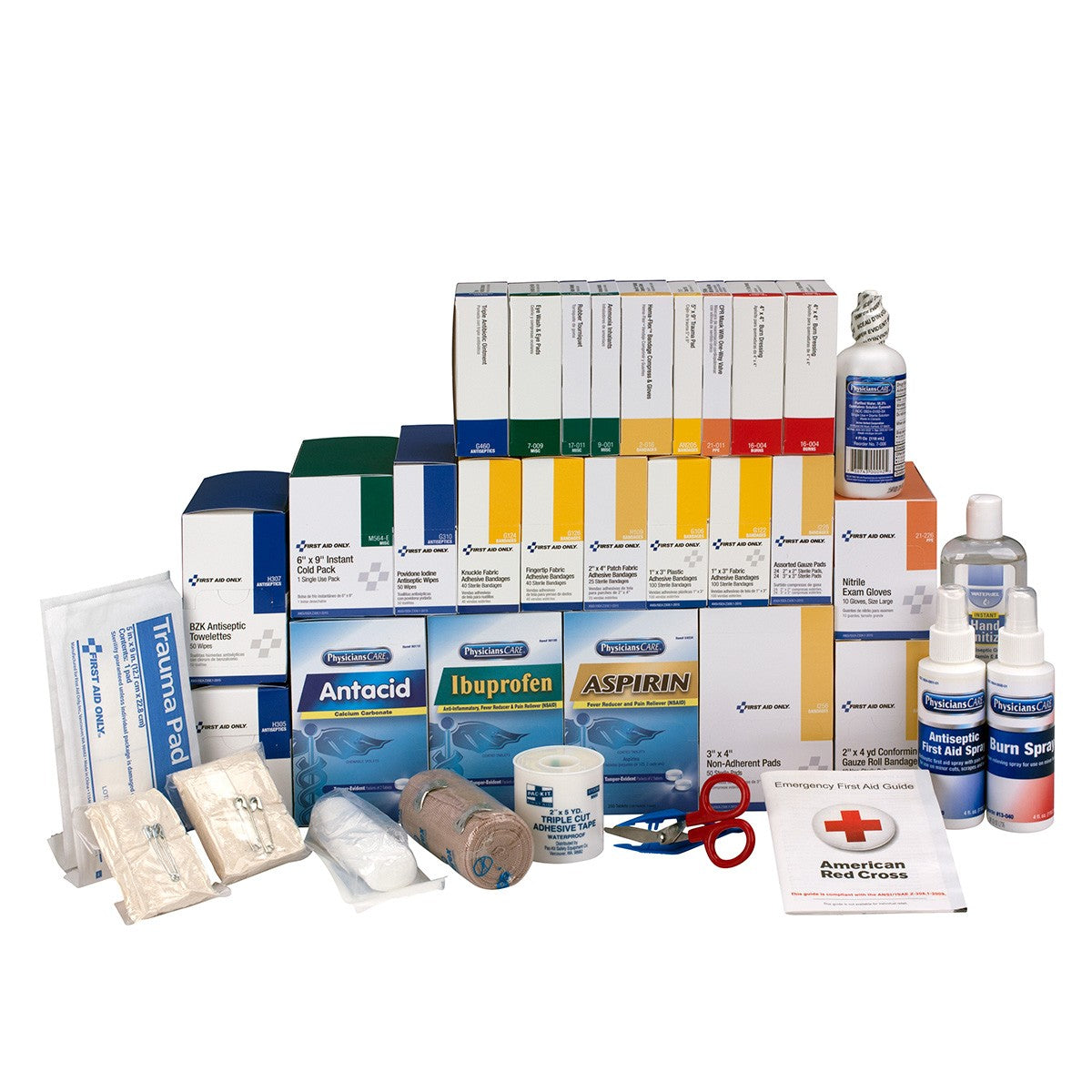4 Shelf Class B+, Refill, with Meds - BS-FAK-90625-1-FM