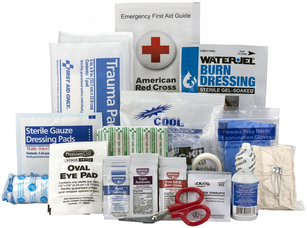 10 Person First Aid Kit, ANSI A, Refill-BS-FAK-90782-1-FM