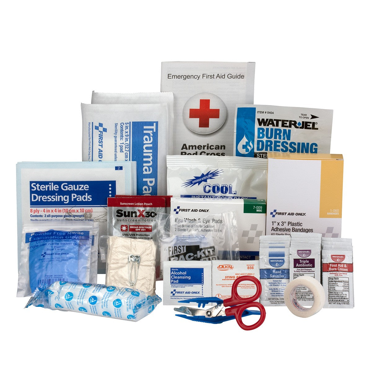 25 Person Contractor ANSI A+ First Aid Kit Refill - BS-FAK-90785-1-FM
