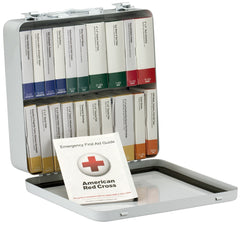 50 Person 24 First Aid Kit, Plastic, Weatherproof, Unit ANSI A+, Type III - BS-FAK-90601-1-FM