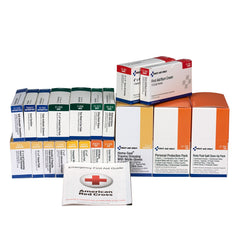 36 Unit ANSI A+ First Aid Kit With BBP, Blood Borne Pathogens Refill - BS-FAK-90783-1-FM