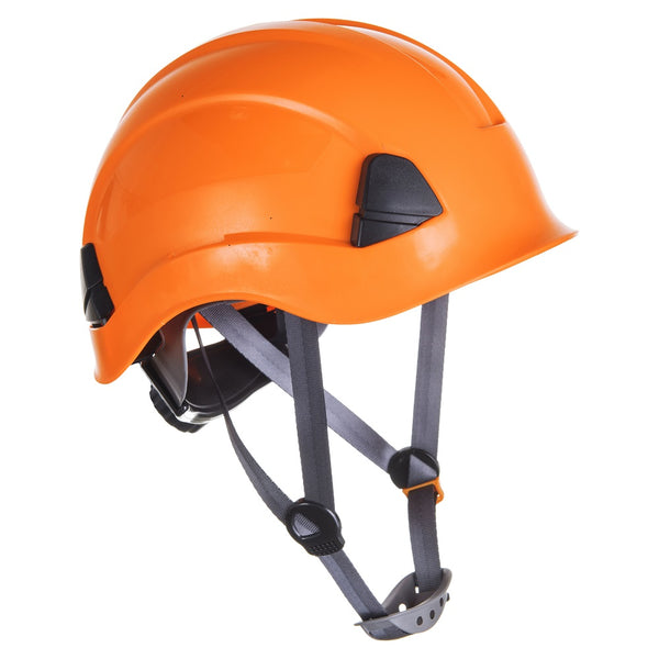 Brite Safety Height Endurance Hard Hat - High Visibility Color Safety Hats 4 Points Textile Harness Protective Head Wear with Chin Strap