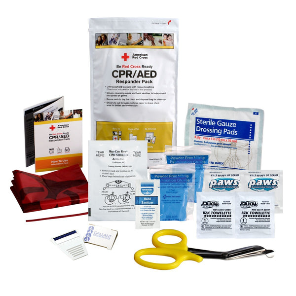 CPR/AED Responder Pack - BS-FAK-RC-643-PB-1-FM