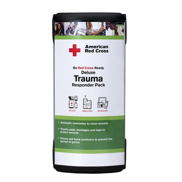 American Red Cross Deluxe Trauma Responder Pack By First Aid Only - BS-FAK-RC-645-1-FM