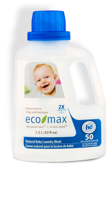 2X Natural Baby Laundry Wash