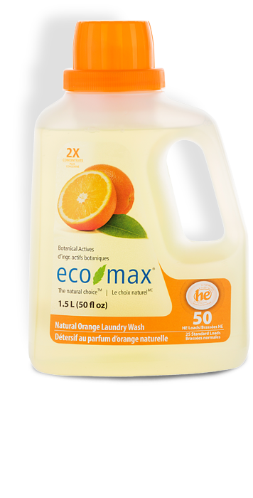 Natural Orange Laundry Wash (1.5L)
