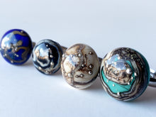 Fashion rings handmade from glass. One of a kind