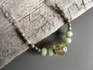 Handmade jewelry from lampwork glass beads