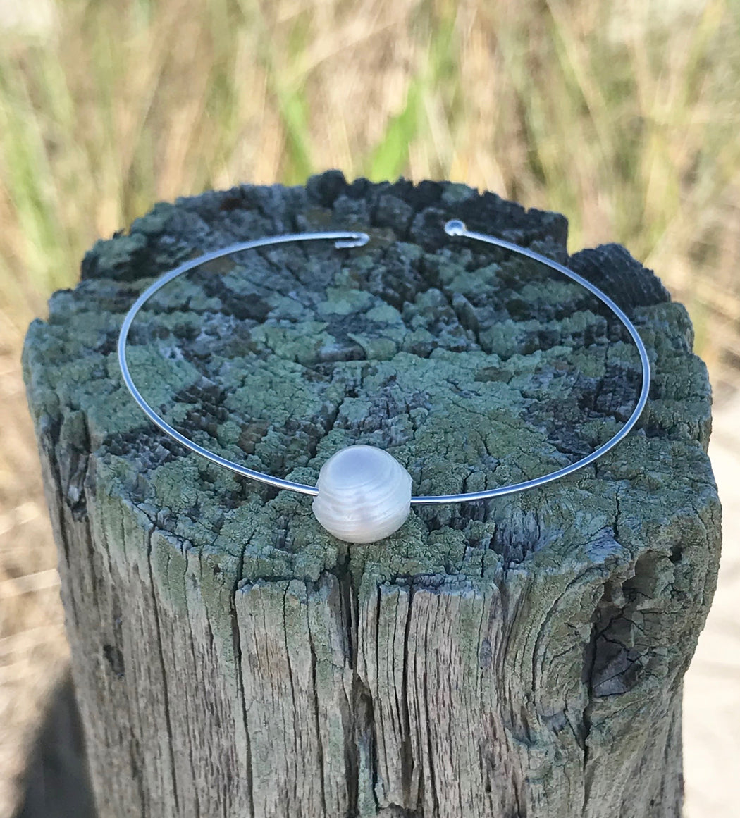 Freshwater Pearl Bracelet by Wave of Life