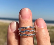Calm Seas Ring Sterling Silver by Wave of Life